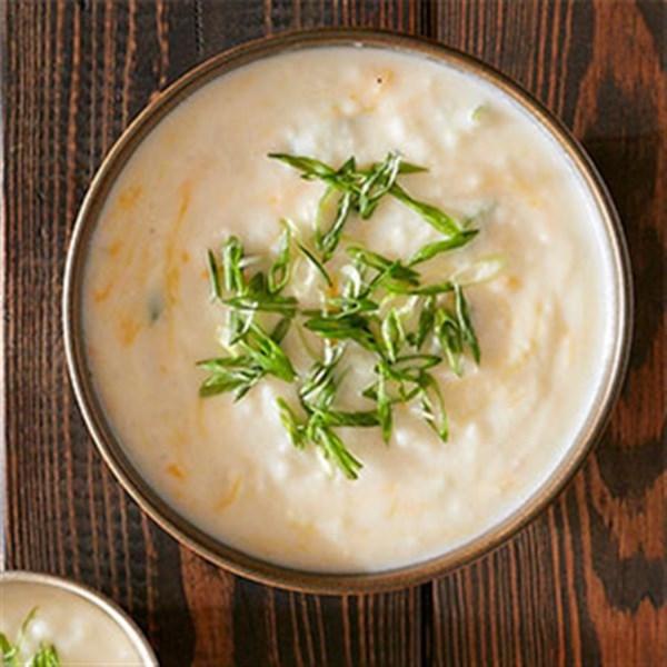Receita de Sopa de Batata Esmagada