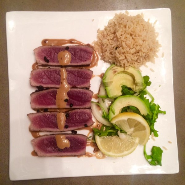 Receita de Atum Wasabi Yellowfin