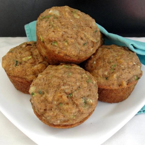Receita de Muffins de Abobrinha de Abacaxi