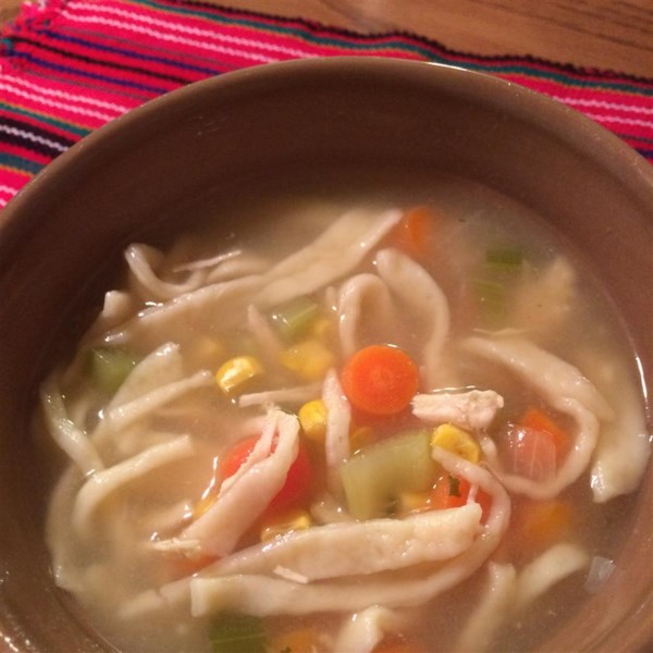 Receita de Chicken Noodle Soup II