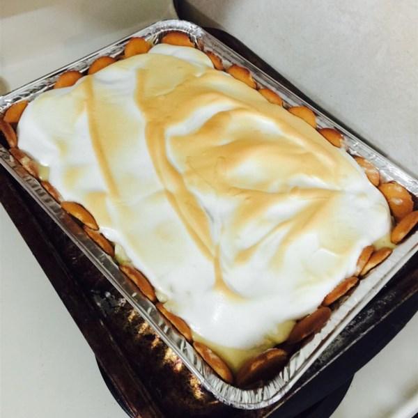 Receita caseira de torta de pudim de banana