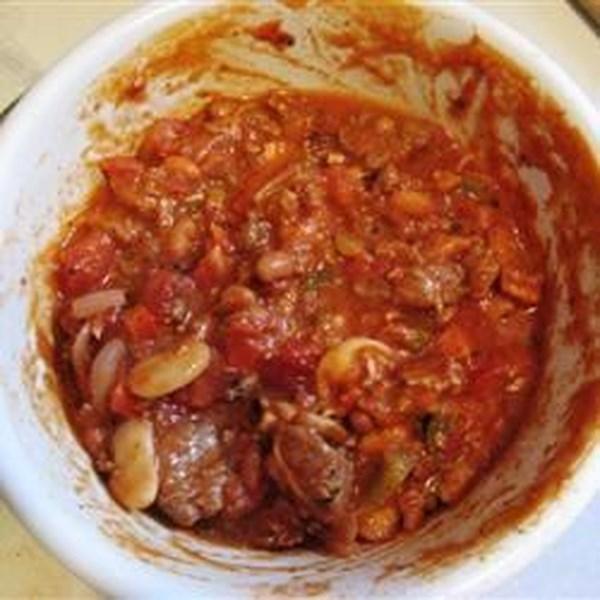 Cinco carnes Habanero Receita de Pimentão