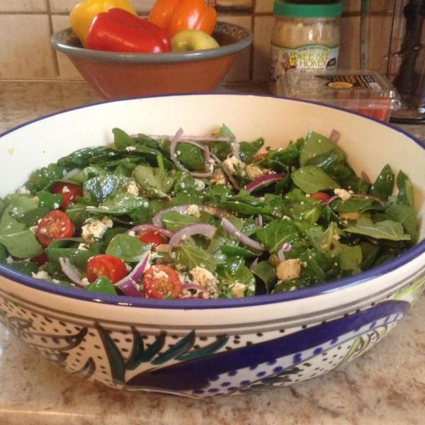 Salada de Tofu Marinada com Receita de Alcaparras