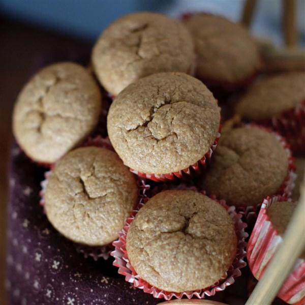 Receita de Muffins crocantes de banana (sem glúten)