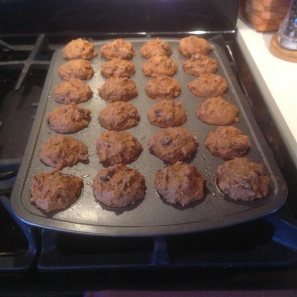 Receita de Muffins de Farelo de Farelo Velho Escuro Mais Saudável