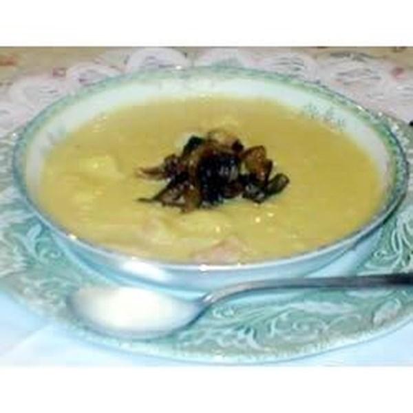 Sopa de Camarão Amanteigado com Receita de Xerez