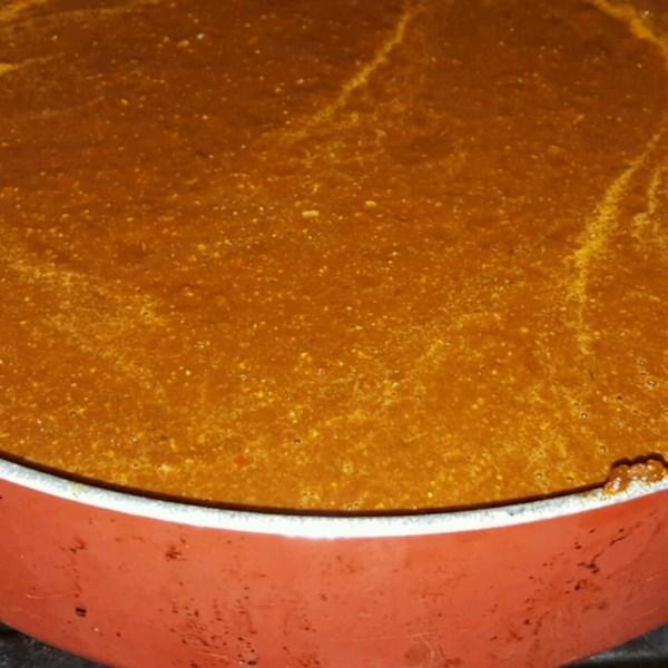 Receita autêntica de molho chileno-pepito enchilada