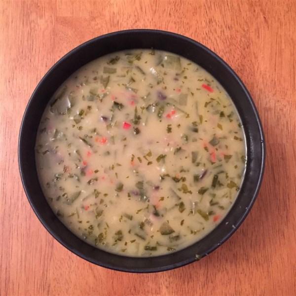 Receita de Sopa de Pepino Tailandês