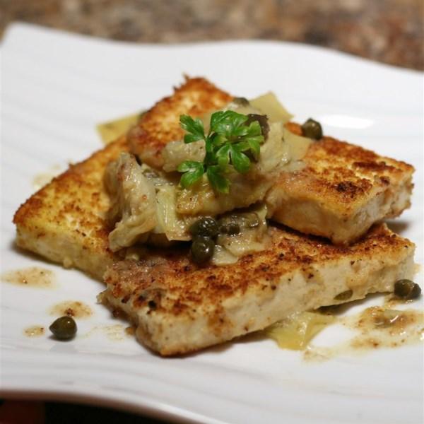 Receita de Tofu Piccata