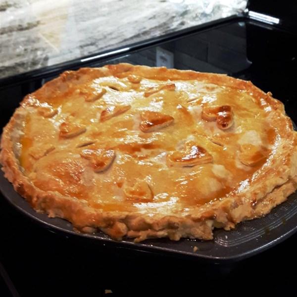 Receita canadense de torta de maçã
