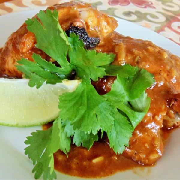 Receita de Coxas de Curry Vermelho da Malásia