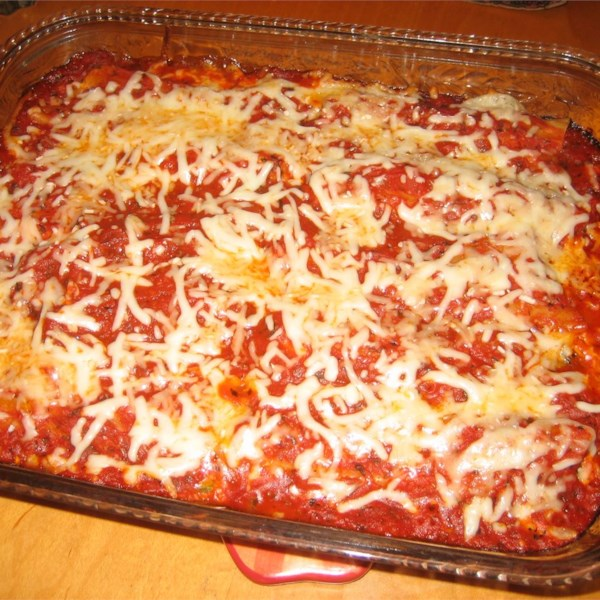 Receita de Manicotti Make-Ahead