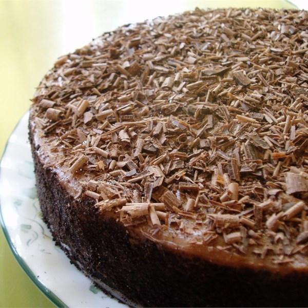 Receita irlandesa de cheesecake de chocolate creme