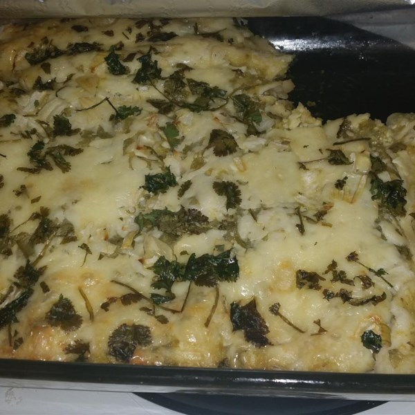 Receita Enchiladas Verdes Autêntica