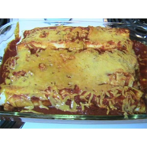 Receita italiana de Enchiladas