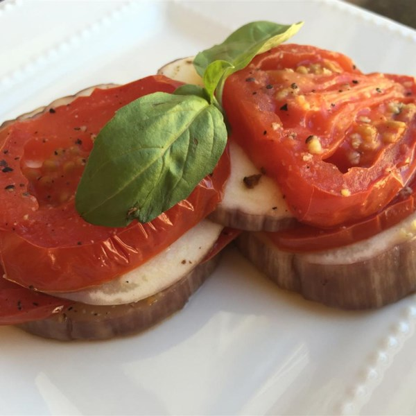 Receita de Pacotes de Berinjela e Tomate