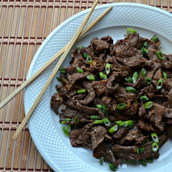 Receita easy Bulgogi (Carne de Churrasco Coreano)
