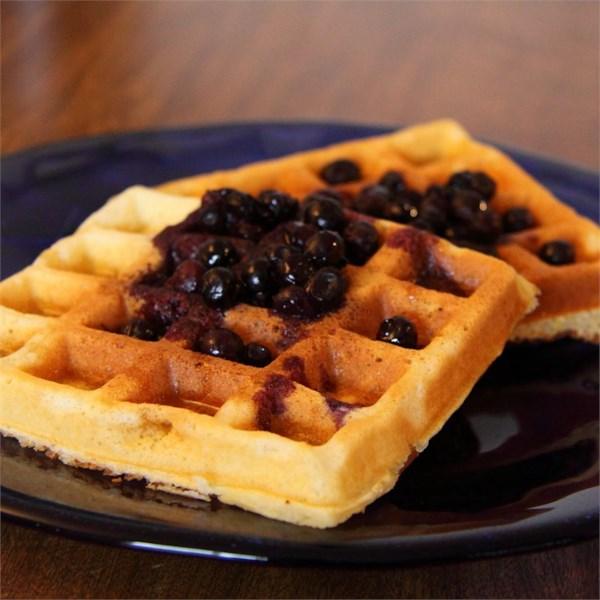 Ótima receita de waffles fáceis