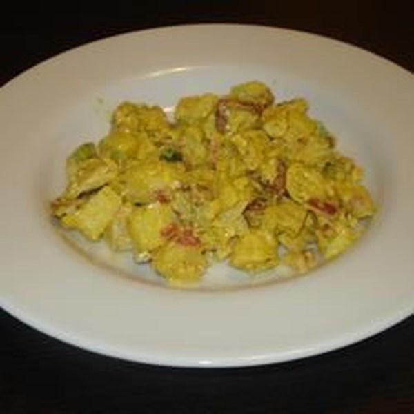 Receita de Salada de Frango Curried