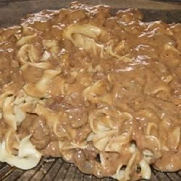 Receita de Refeição de Estrogonofe de Carne de Veado Lento