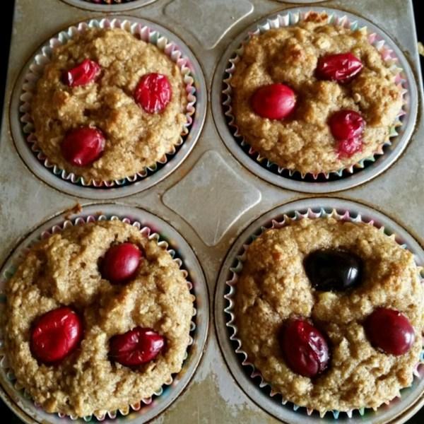 Receita de Muffins de Migalhas de Banana Mais Leve