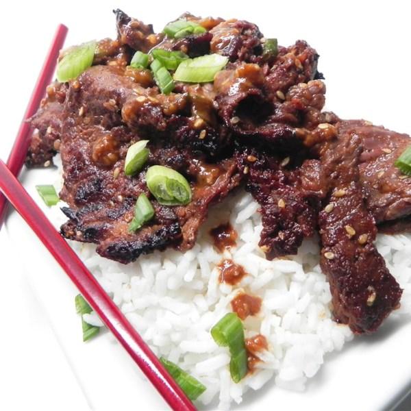 Receita de Bulgogi de Carne Picante