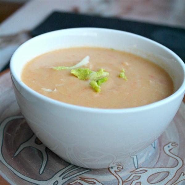 Receita de Creme de Sopa de Erva-Doce (Fennel Vichyssoise)
