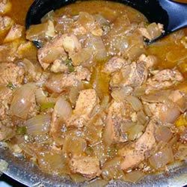 Receita de Curry de Frango Picante