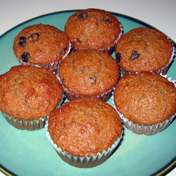 Receita de Muffins de Farelo de Mel