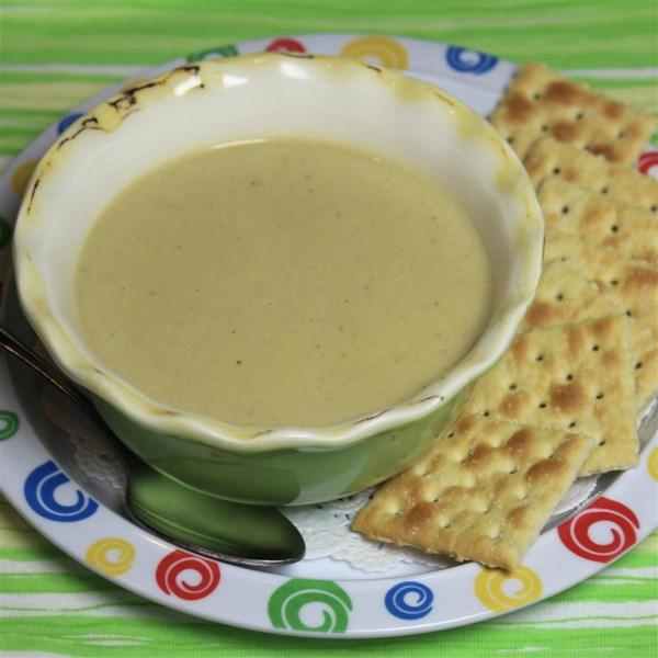 Receita de Sopa de Aspargos de Alecrim