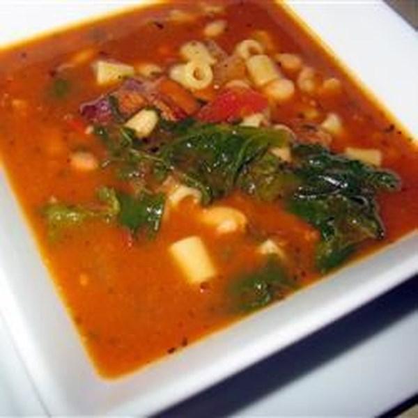 Pasta Fagioli Sopa II Receita