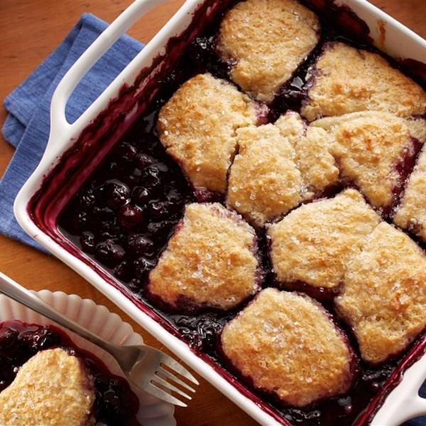 Blueberry Cobbler da Receita Land O'Lakes