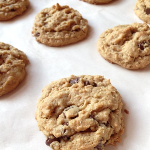 Receita ultrajante de biscoitos de chocolate