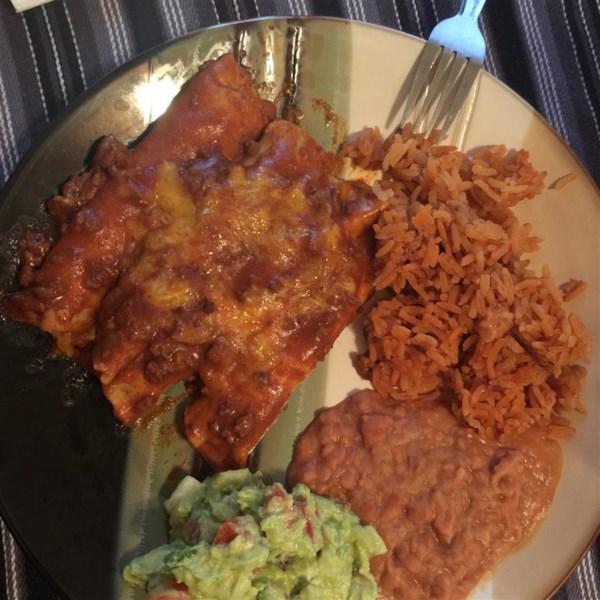 Receita de Enchiladas de Carne e Queijo Tex-Mex