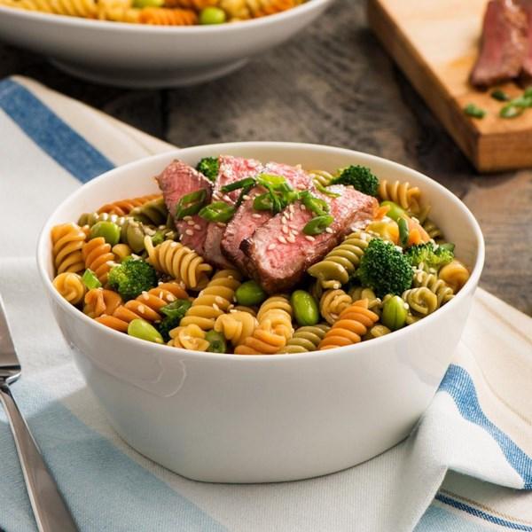 Receita de Salada de Carne de Catelli Bistrô e Brócolis