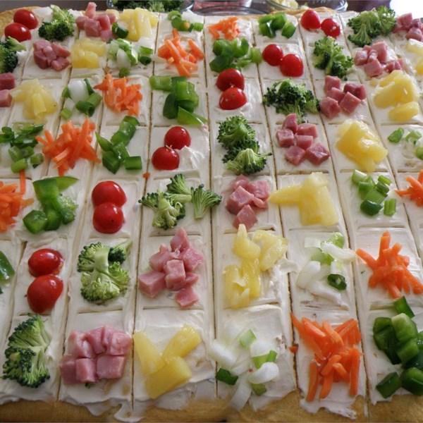 Receita de Pizza Vegetal II