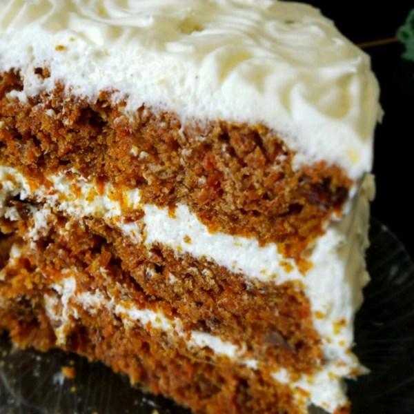 Melhor receita de bolo de cenoura de todos os tempos