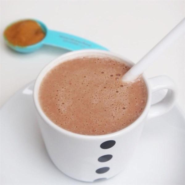 Receita de Shake de Proteína de Manteiga de Amendoim de Chocolate
