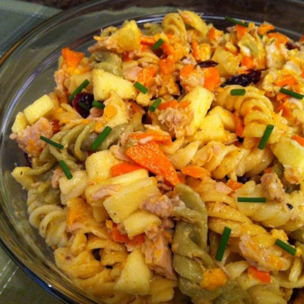Cinco grupos alimentares Receita de Salada de Macarrão
