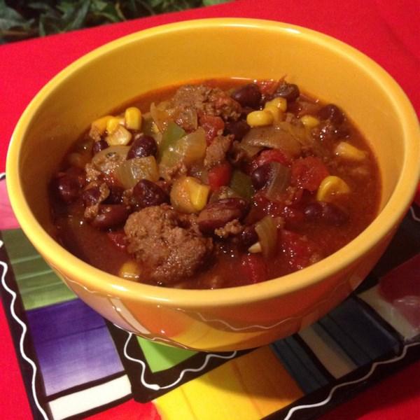 Sopa de Taco de Panela Lenta com Receita de Mistura de Molho ranch