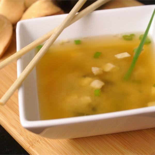 Receita de Sopa de Miso