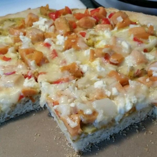 Receita de Pizza de Salsicha de Café da Manhã