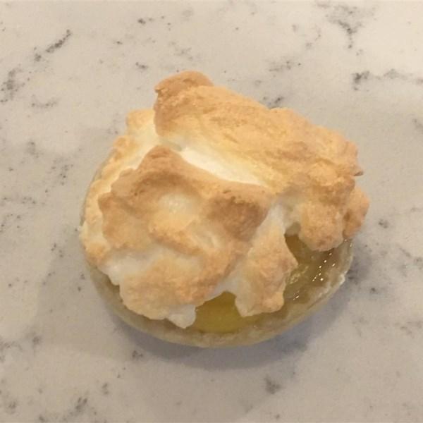 Mini Receita de Tortas de Merengue de Limão