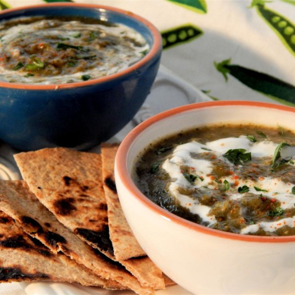 Receita de Sopa de Abóbora Verde