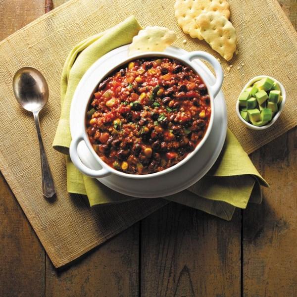 Quinoa e Black Bean Chili da Receita GOYA(R)