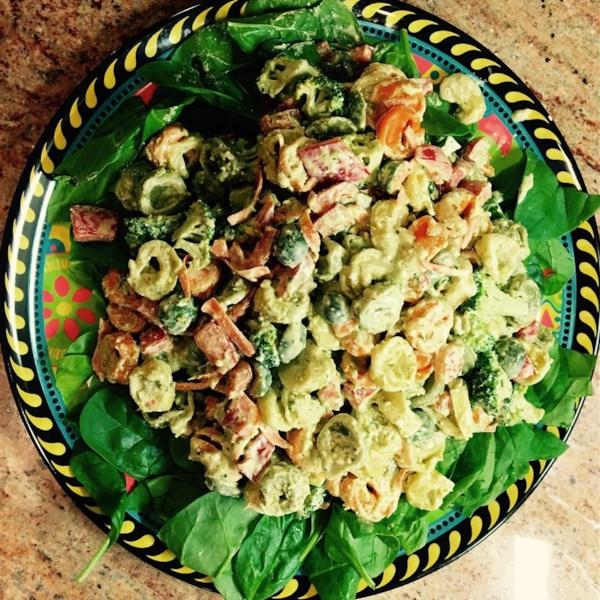 Receita de Salada de Pesto Tortellini