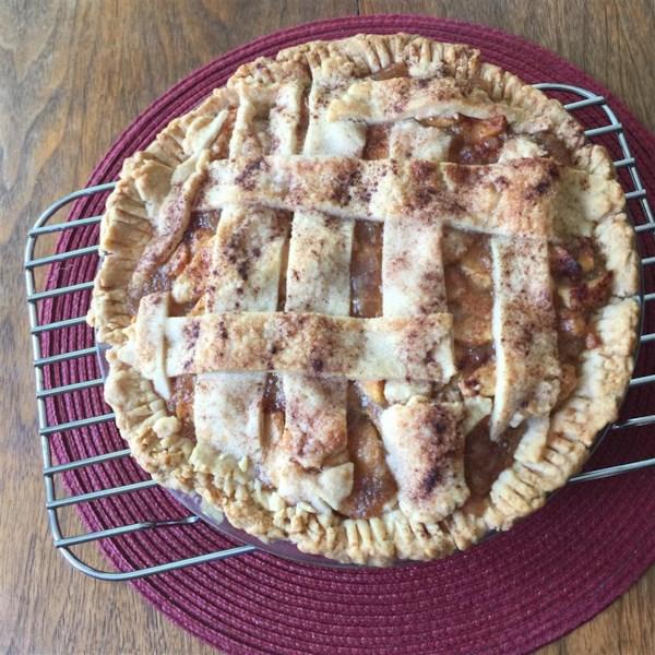 Torta de Maçã mais saudável por receita de vovó Ople