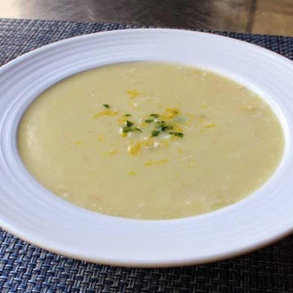 Receita de Sopa de Avgolemono
