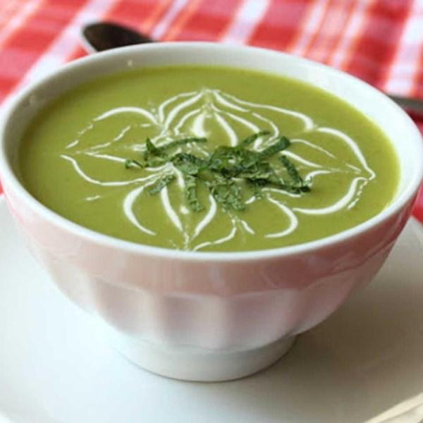 Receita de Sopa de Ervilha de Açúcar Resfriado