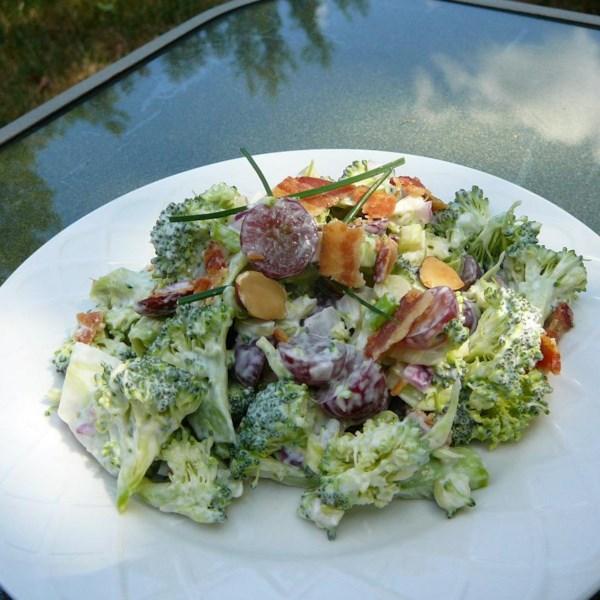 Receita de Salada de Brócolis Vermelho